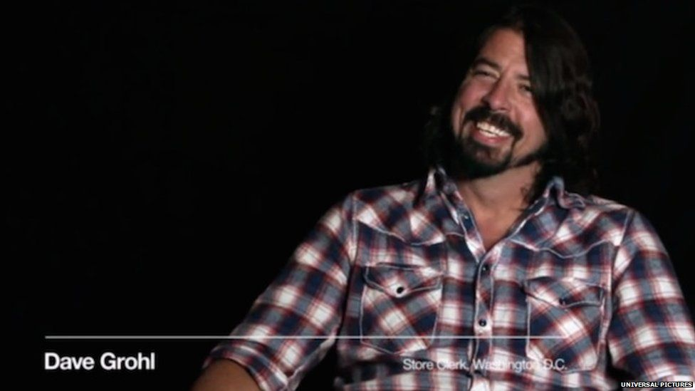 Dave Grohl in the film