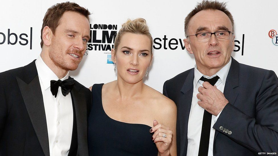 Michael Fassbender, Kate Winslet and Danny Boyle