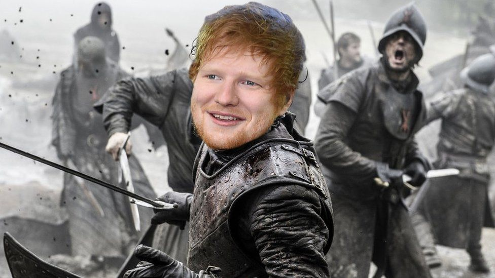 Afbeeldingsresultaat voor ed sheeran in game of thrones