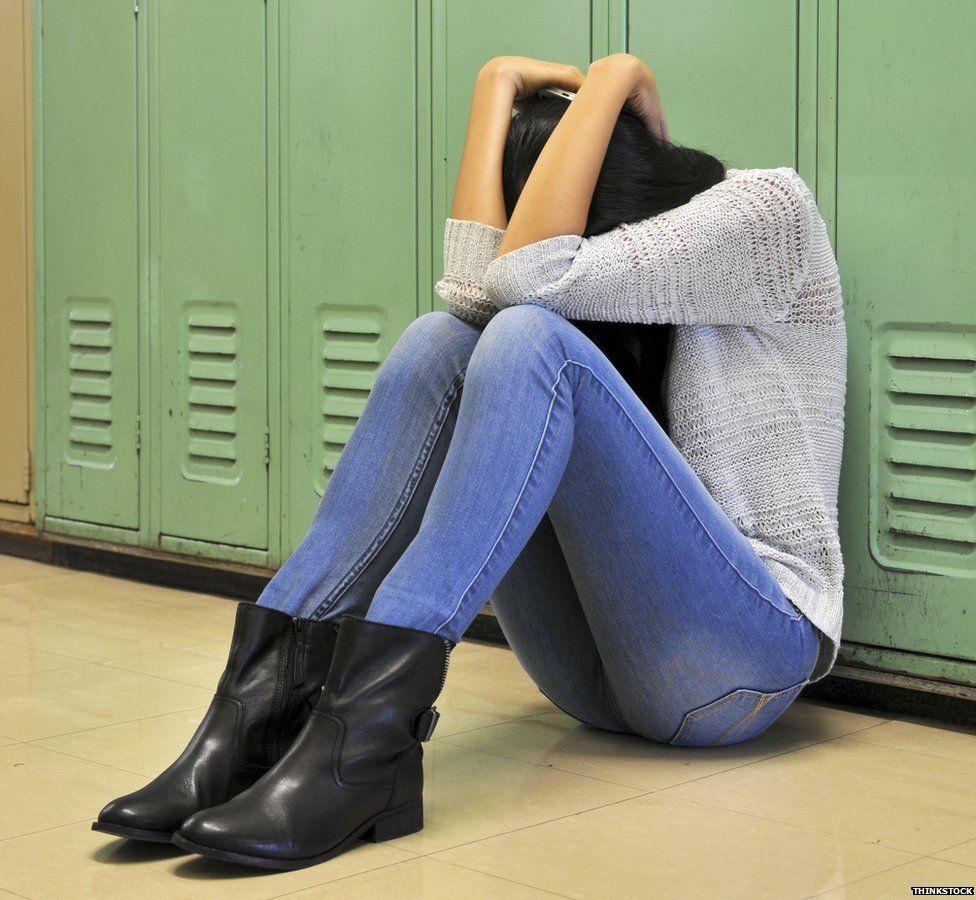 Bullied girl