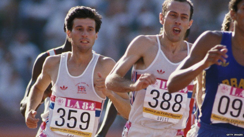 Seb Coe and Steve Ovett