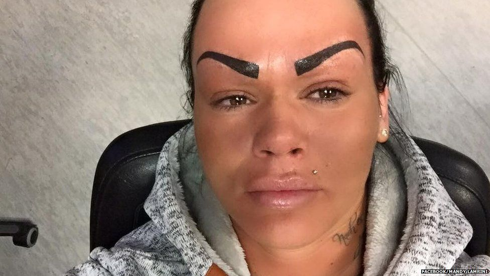 German Bar Worker Who Tattooed Her Eyebrows Gets Abuse On Her