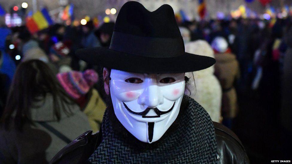 An Anonymous activist