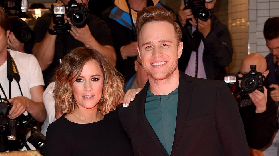 Olly Murs and Caroline Flack