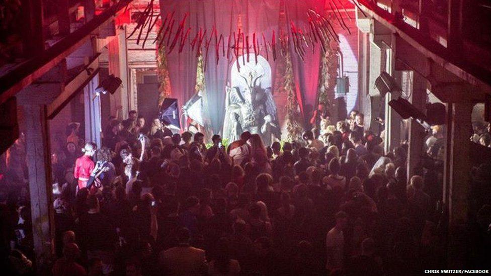 Satanic Temple event