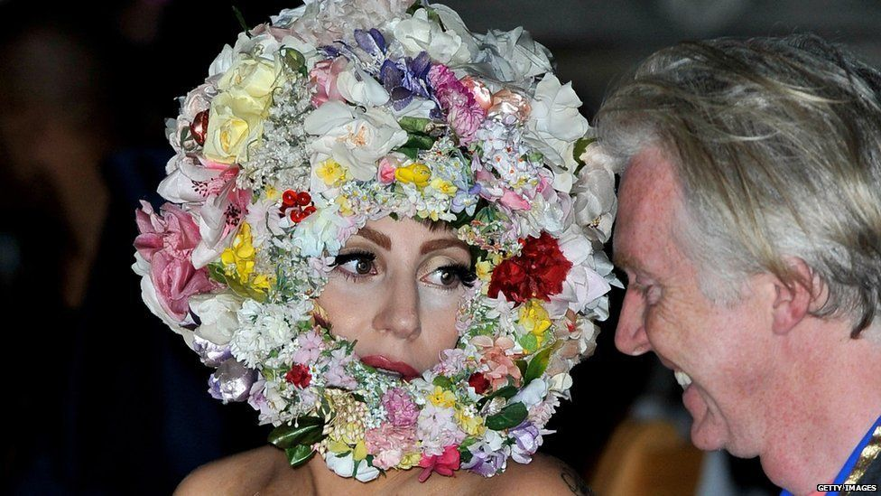 Lady Gaga at London Fashion Week 2012