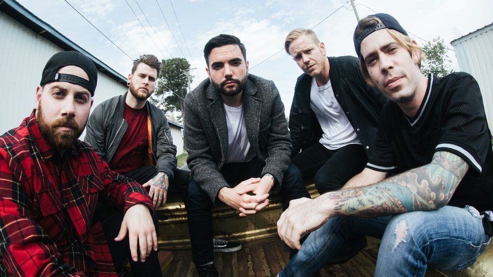 A day to remember say the uk rock scene is mindblowing bbc a day to remember voltagebd Choice Image