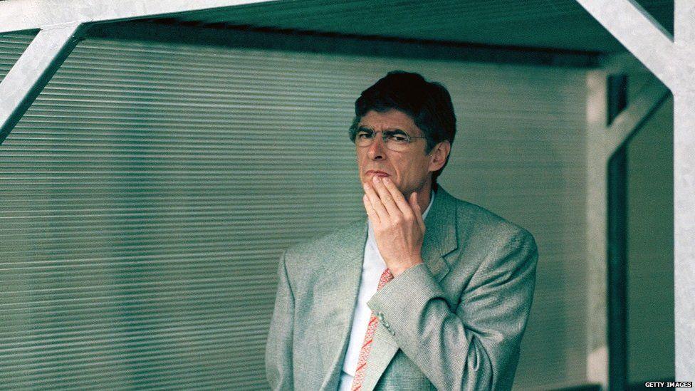 Arsene Wenger in 1996