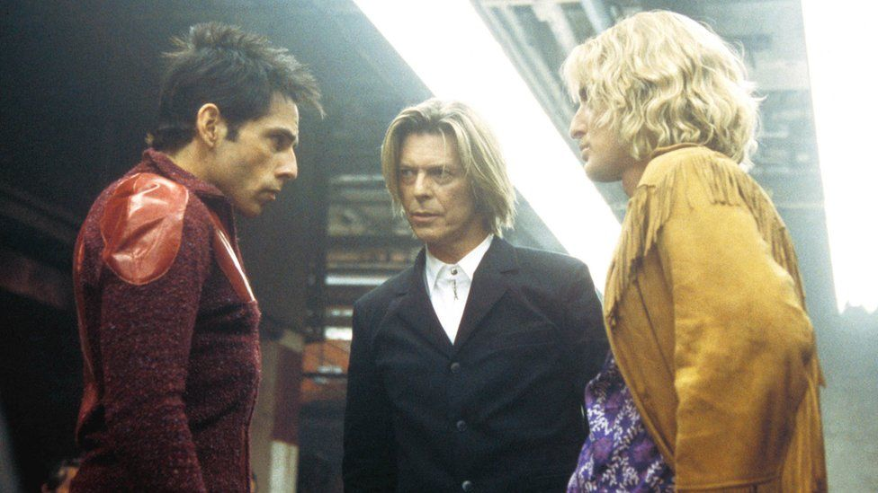Ben Stiller, David Bowie and Owen Wilson