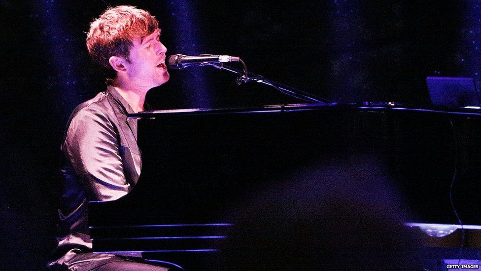This is a photo of the British singer James Blake.