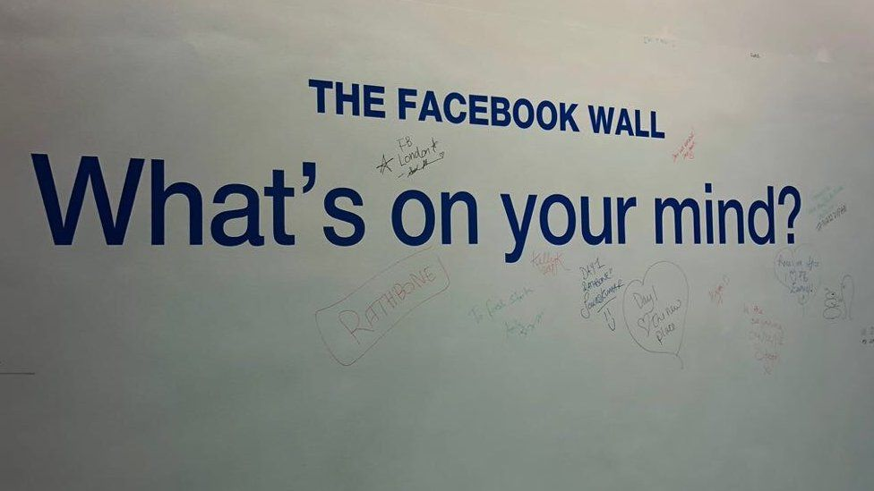 Facebook's new wall