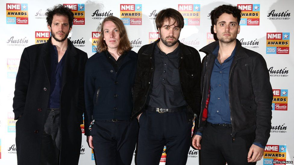 The Vaccines were due to headline on Friday