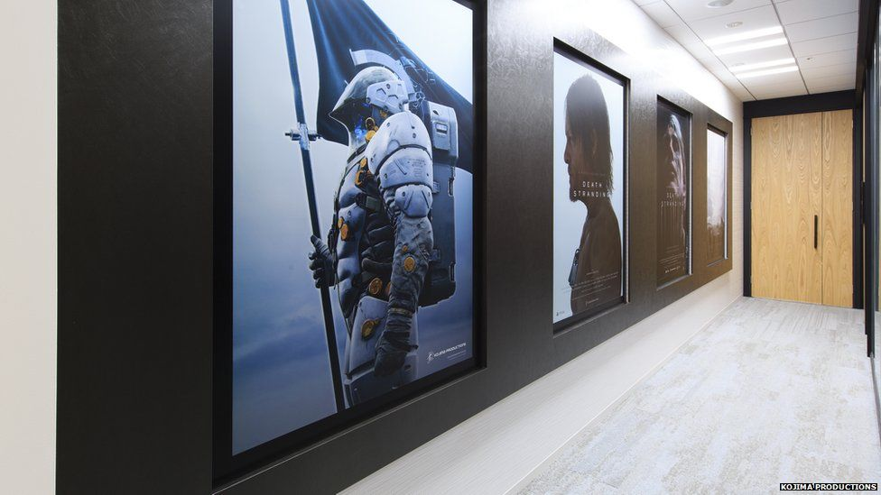 Inside the Kojima Productions Studio