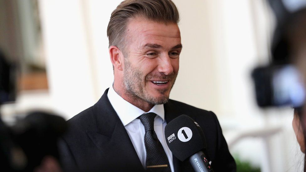 euro 2016 david beckham believes england are due a 39 big performance 39 in france bbc newsbeat. Black Bedroom Furniture Sets. Home Design Ideas
