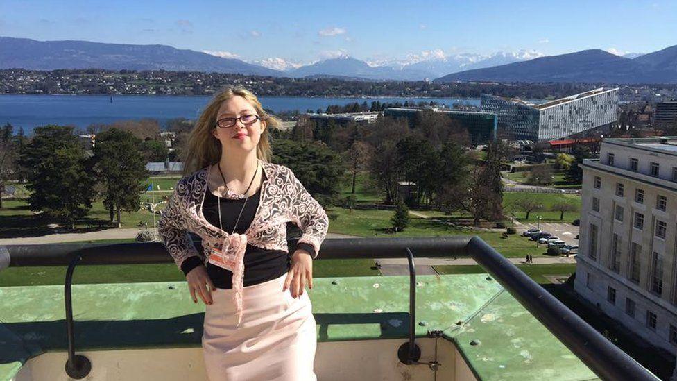 Kathleen in Geneva