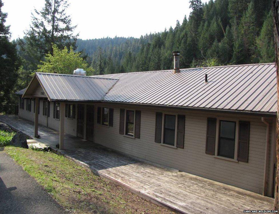 A house in Tiller, Oregon