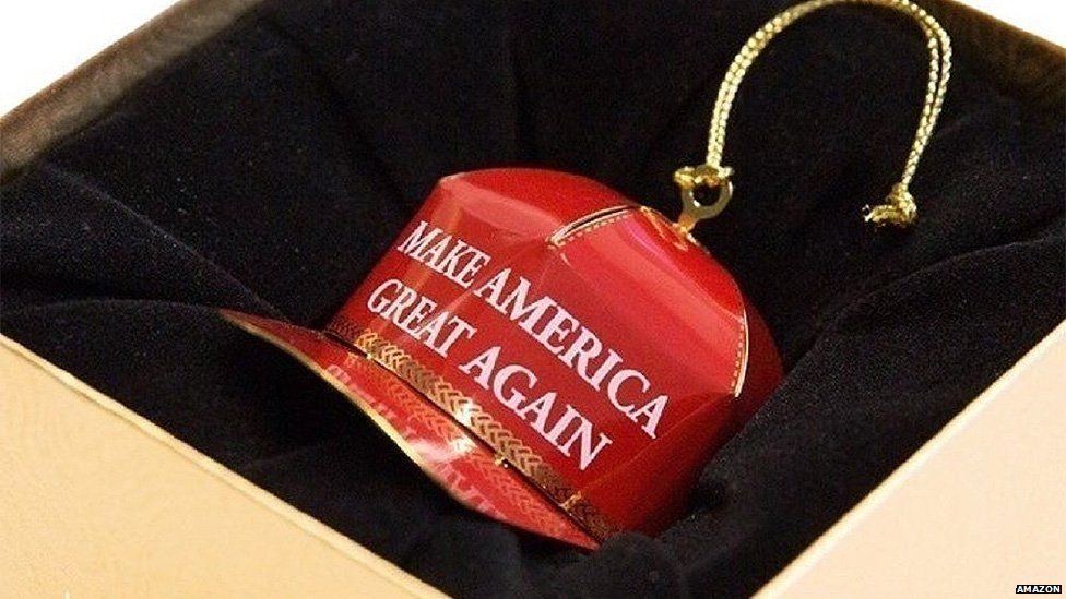 christmas ornament - Trump Christmas Decorations
