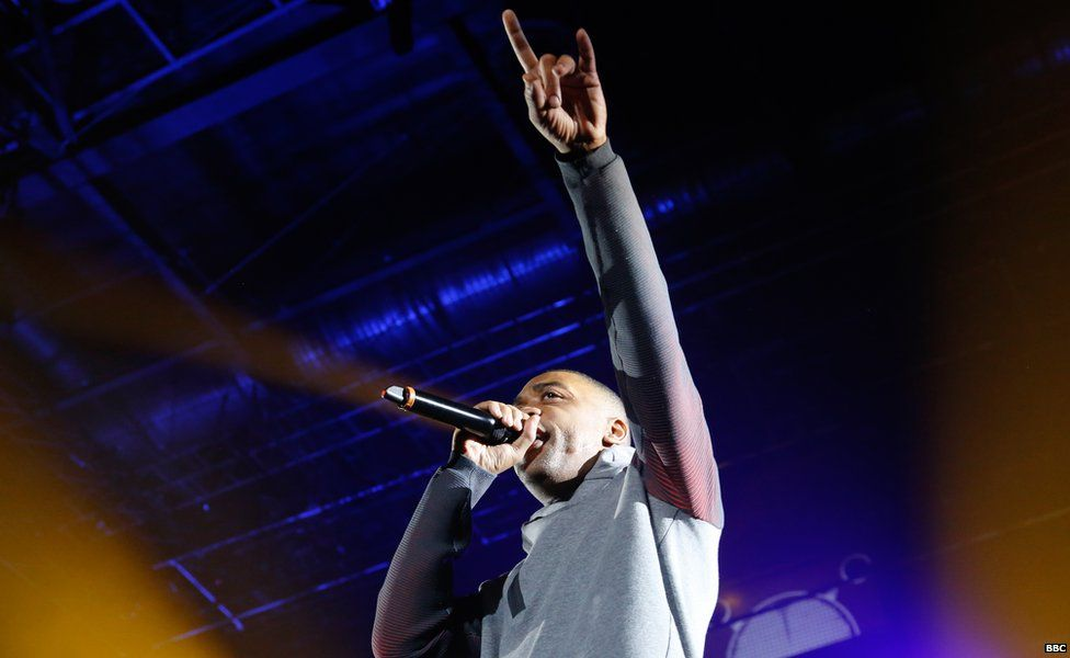 Wiley performing at Radio 1Xtra live