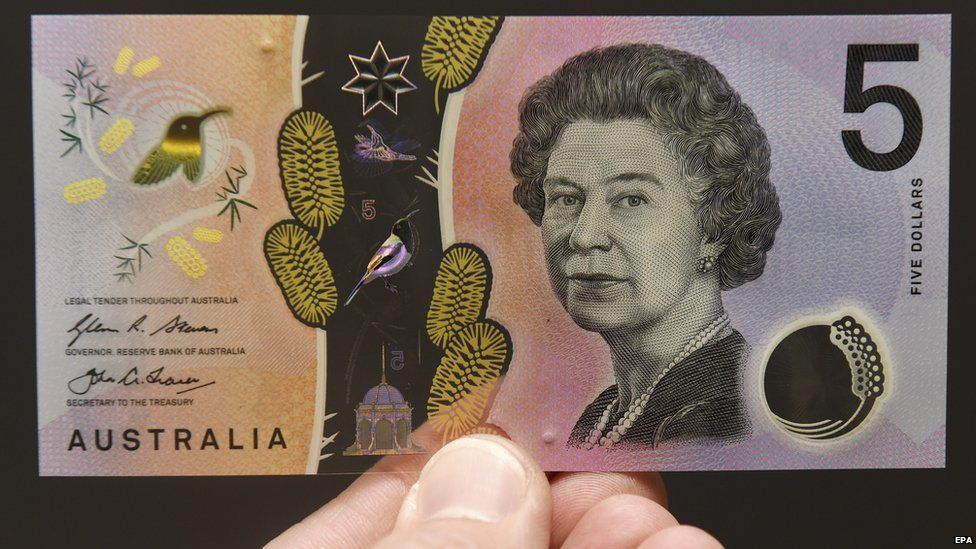 Australian five dollar bill