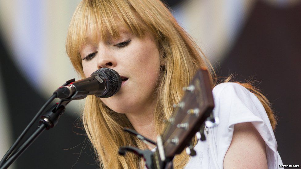 Lucy Rose performing live