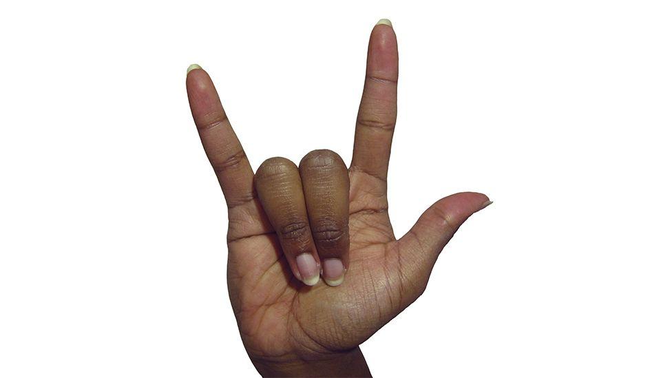 Gene Simmons To Trademark Devil Horns Gesture Bbc Newsbeat