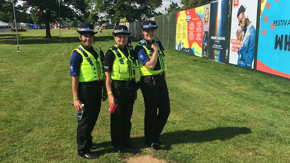 Police at Big Weekend, Hull