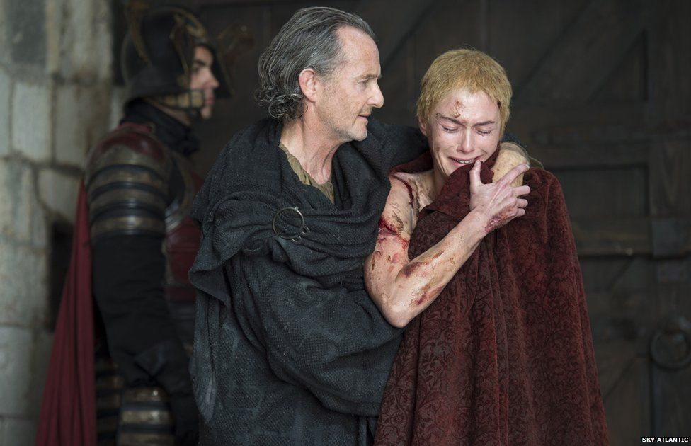 Cersei Lannister was forced to perform a nude walk of shame through the streets of King's Landing