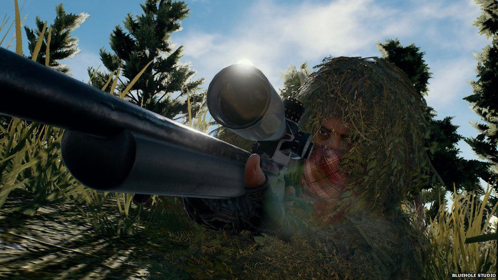 Player Unknown's Battlegrounds gameplay