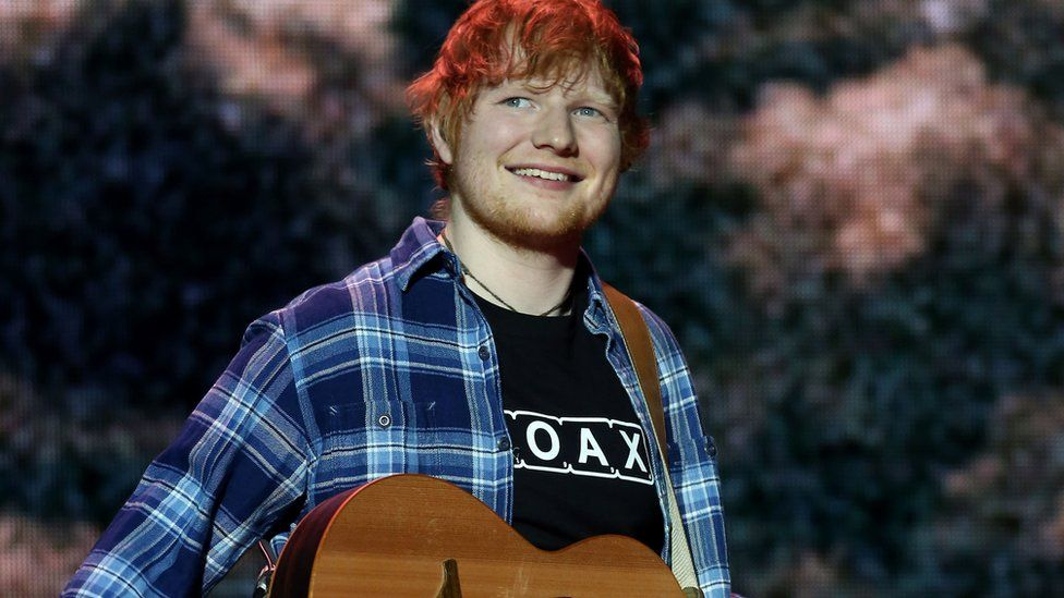 Ed Sheeran announces engagement