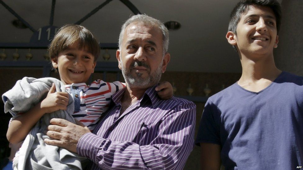 r Mohsen, who coached a football team in Syria, has now been offered a job at a sports school near Madrid.
