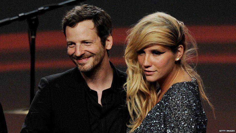 Kesha and Dr Luke