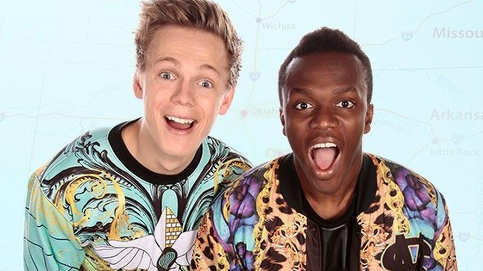 YouTube stars KSI and Caspar Lee could be changing how films