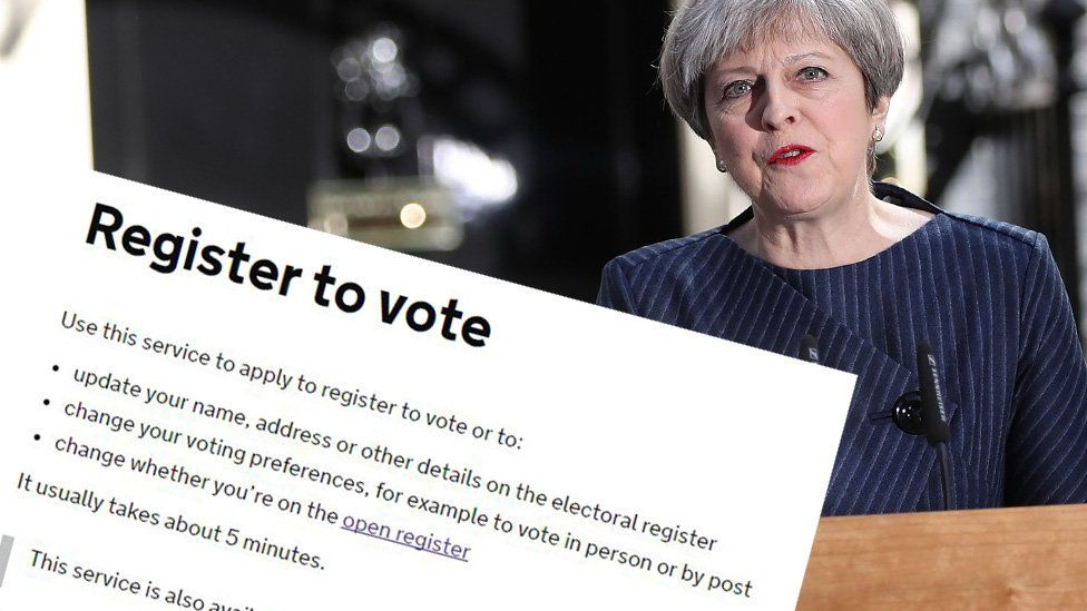 GENERAL ELECTION 2017: Register to vote ahead of election