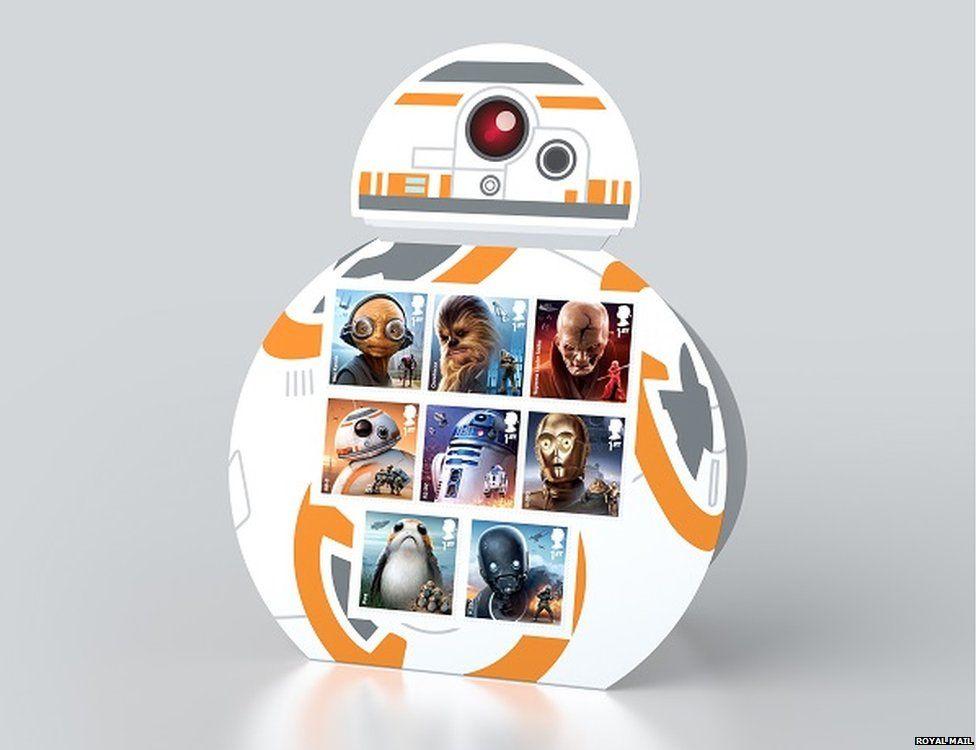 BB-8 display set