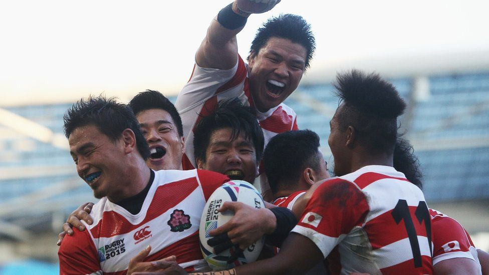 277ef71d4ac Rugby World Cup 2015: Are Japan joining rugby's big boys after South ...