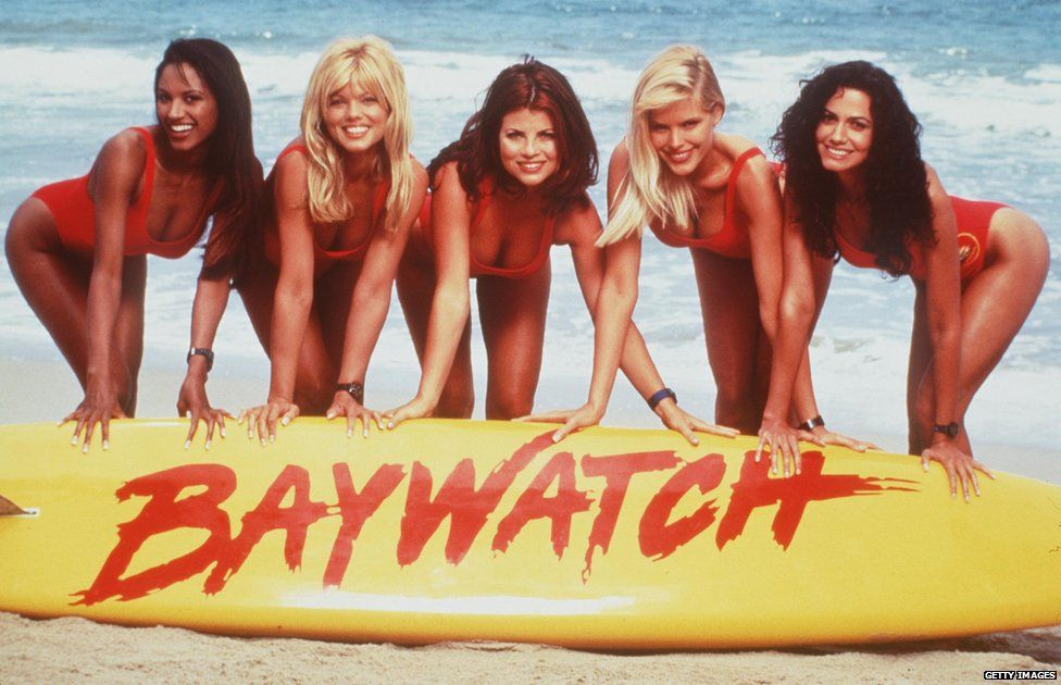 Traci Bingham, Donna D'Errico, Yasmine Bleeth, Gena Lee Nolin And Nancy Valen
