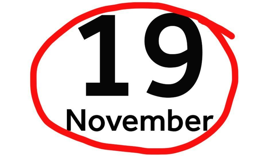 19 November circled