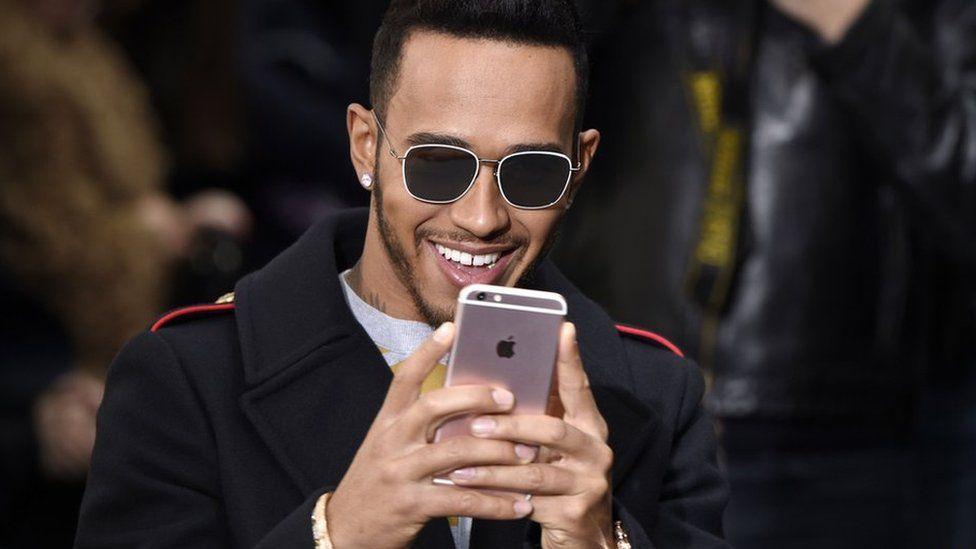 Lewis Hamilton snapchat