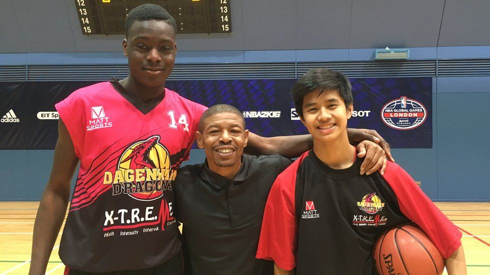 The 17 Year Old Tipped As One Of Europes Top Basketball Players
