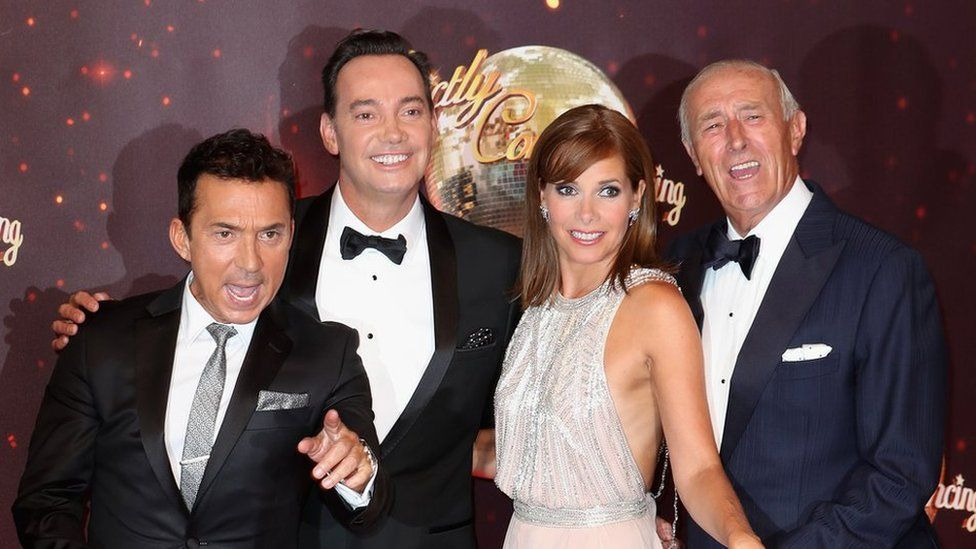 It'll be more than £25 for a photo with (L-R) Bruno Tonioli, Craig Revel Horwood or Darcy Bussell