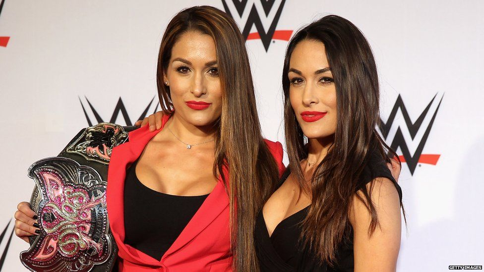 Brie and Nikki Bella