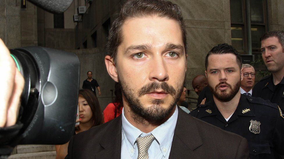Shia LaBeouf apologises after verbally abusing police in Georgia