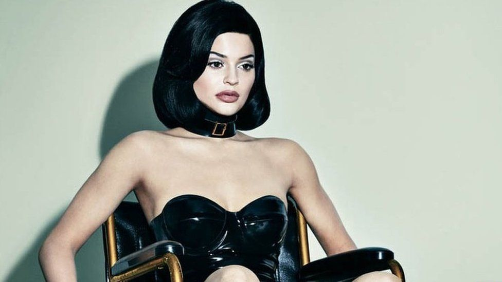 Kylie Jenner in Interview