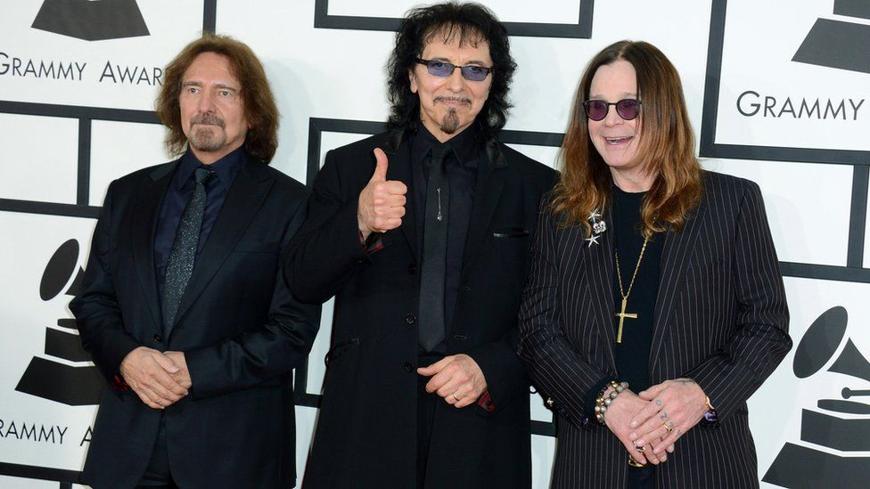 Black Sabbath members: Ozzy Osbourne, Tony Iommi and Geezer