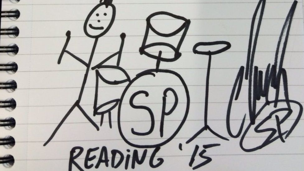 Simple Plan's drawing