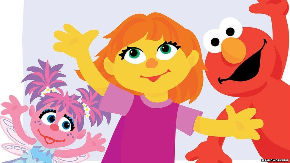 Cartoon Characters Named Zoe : Sesame street introduces new character who has autism