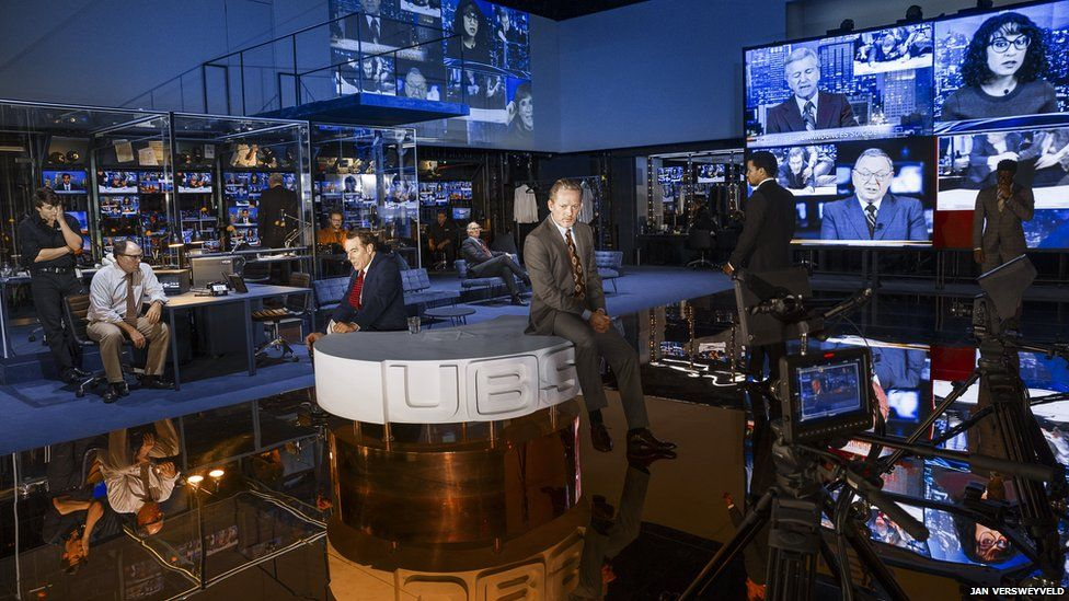 Bryan Cranston in Network at the National Theatre