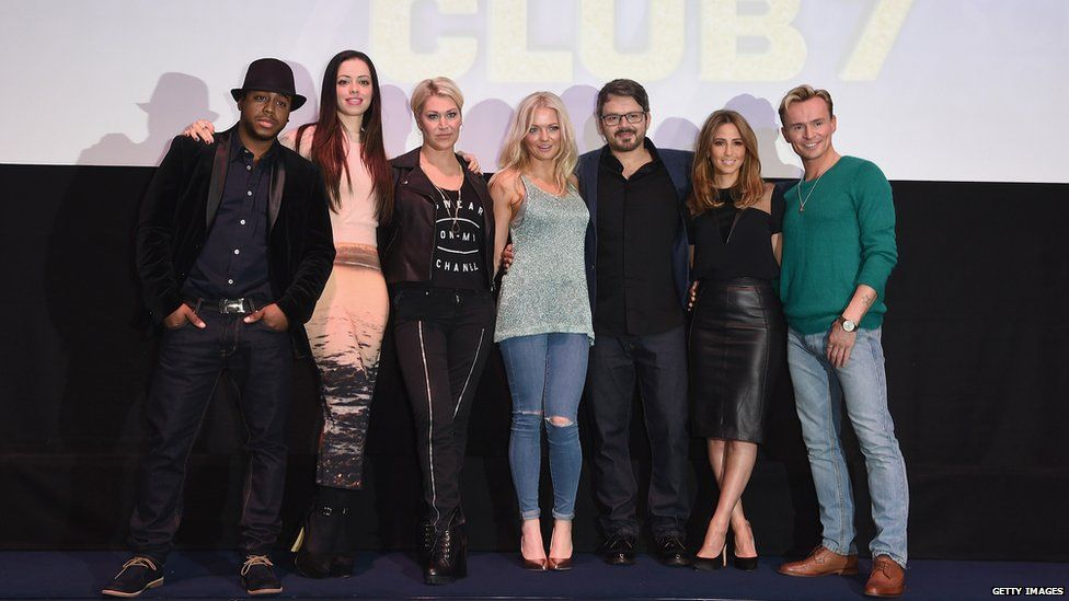 S Club 7 in 2014
