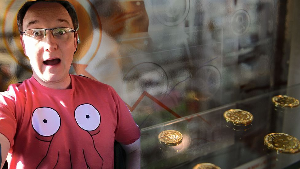 I bought bitcoins in 2011 now theyre worth 19000 bbc newsbeat drew llewellyn and some bitcoin ccuart Choice Image