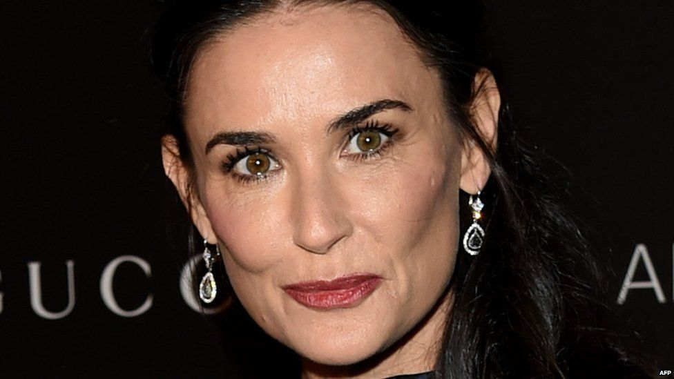 Demi Moore. File photo